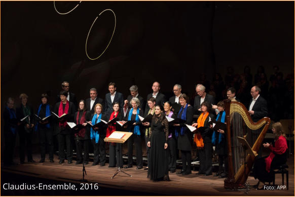Claudius-Ensemble - 2016 - Foto: APP